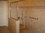 Frameless Shower Enclosure Installation